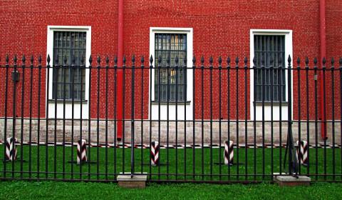 Пазл три окна и забор