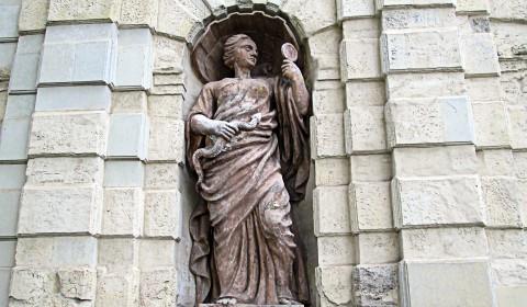 Пазл левая статуя