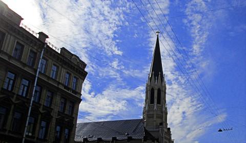 Пазл с церковью на Среднем