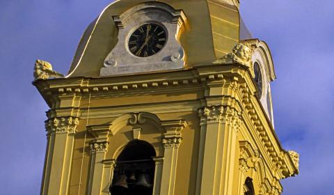 Пазл с часами собора