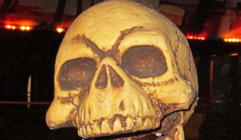 Пазл с черепом