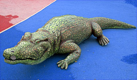 Пазл с крокодильчиком