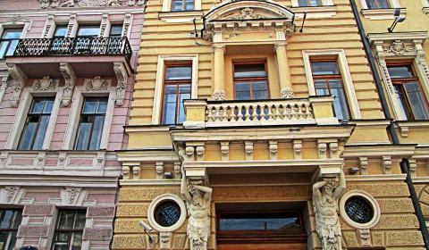Пазл с тяжёлым балконом